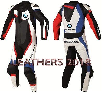 BMW Tyco Motorrad Motorbike Motorcycle Leather Racing Suit Cowhide Leather suit