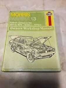 MORRIS-MARINA-1-3-1971-75-HAYNES-WORKSHOP-MANUAL-BS