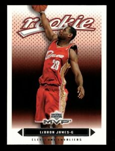 2003-2004 Lebron James Upper Deck MVP #201 Rookie Basketball Card RC