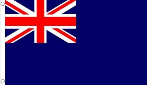 Royal Navy Royal Fleet Auxiliary Blue Ensign 5/'x3/' Flag