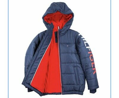 Tommy Hilfiger Boys/' Youth Jacket * FAST SHIPPING * Select Size: XS-L BLUE