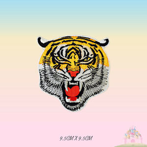 Tiger Head Disney Full Embroidered Iron On Sew On Patch Badge For Clothes etc
