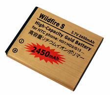 BATTERIA 2450MAH per HTC WILDFIRE S G13 HD7 EXPLORER BA-S540 PILA GARANTITA GOLD