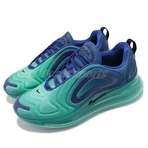 Levántate Destino mero  Nike Air Max 720 Sea Forest Deep Royal Blue Men Running Shoes Sneaker  AO2924-400 | eBay