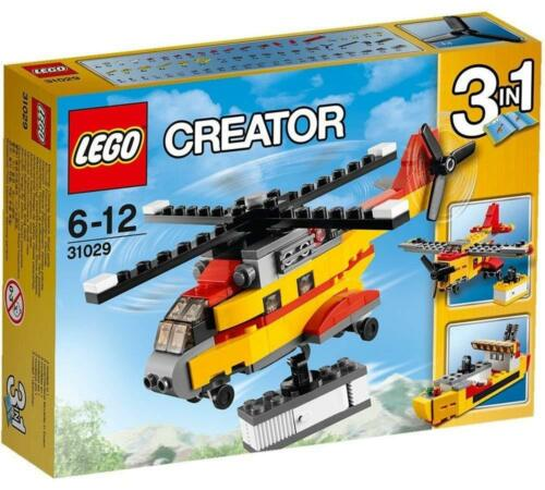 Brand New /& Factory Sealed LEGO Creator 31029 3in1 Cargo Helicopter