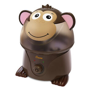 Crane RB-8190 Adorables Ultrasonic Humidifier Monkey - Certified Refurbished
