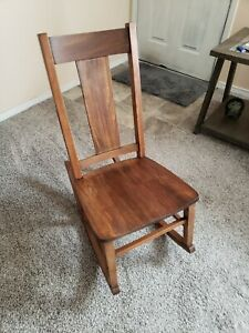 Peachy Details About Rare Antique Sewing Rocking Chair Lamtechconsult Wood Chair Design Ideas Lamtechconsultcom