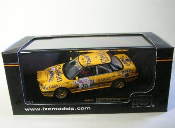 Subaru Legacy Rs No. 20 Rac Rally 1992