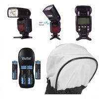 VIVITAR DEDICATED FLASH + ACCESSORY KIT FOR NIKON D40 D50 D60 D70 D80 D90 D3000