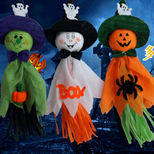 Halloween Ghost Hanging Decorations Indoor//Outdoor Party Door Hanger Decoration