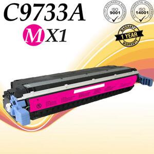 1PK 645A C9730A Black Toner For HP LaserJet 5500 5500DN 5500DTN 5500HDN 5500N