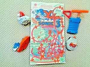 McDonald-039-s-SEGA-Sonic-3-The-Hedgehog-Happy-Meal-W-Bag
