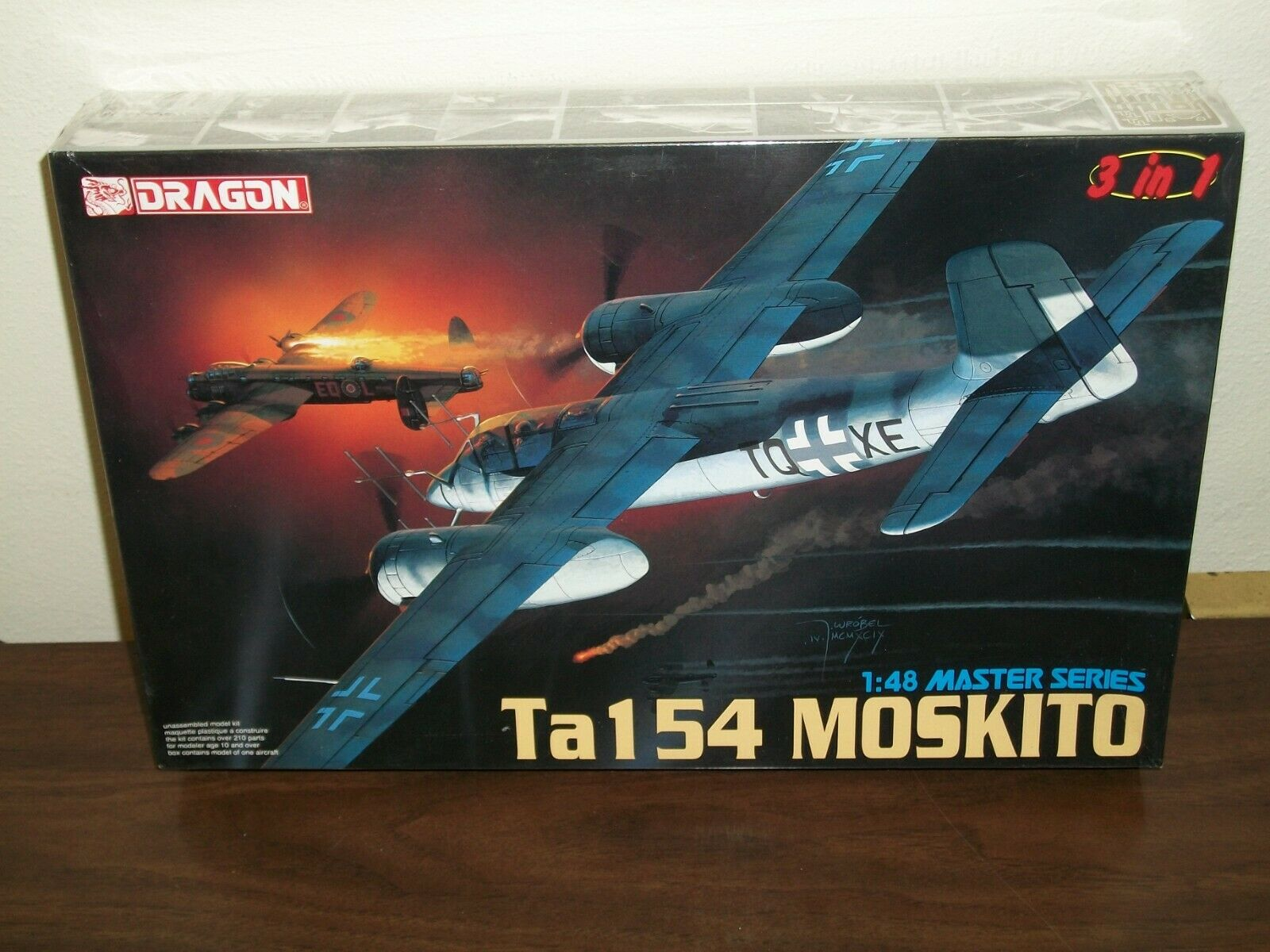 Dragon 1 48 Scale Ta 154 Moskito - Factory Sealed