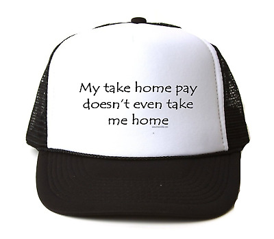 Trucker Hat Cap Foam Mesh City State Country Illinois Seal Home Sweet Home