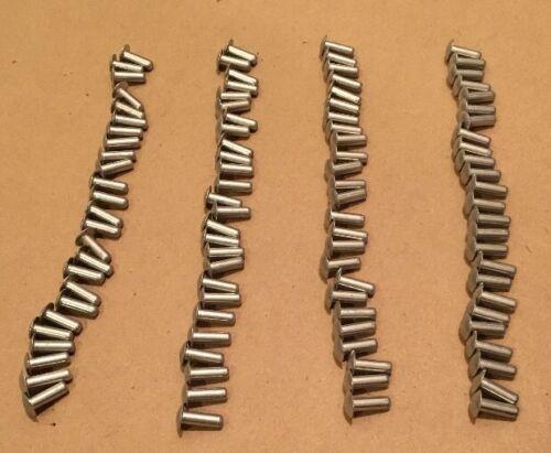 """Buck Aluminum Rivet 3//16/"""" X 9//16/"""" Truck Trailer Lot of 100 Brazier Dimple Head"""