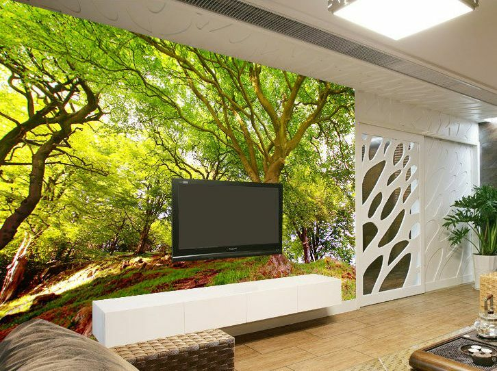 3D Peak Tree Vines  Paper Wall Print Wall Decal Wall Deco Indoor Murals Wall