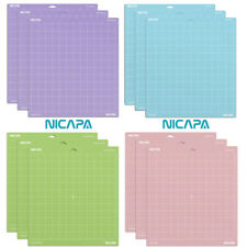 NICAPA Cutting Mat For Cricut Maker Explore Air Air 2 Vinyl Fabric Variety Grip