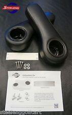 EZGO/Club Car/Yamaha Golf Cart Rear Seat Arm Rest Cushion Cup Holder (Black)