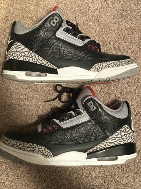 Nike Air Jordan 3 Black Cement Retro