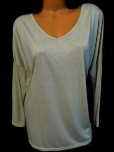 Bobbie-brooks-light-brown-women-039-s-plus-size-v-neck-3-4-sleeve-solid-top-1X