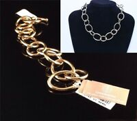 Womens 24k Gold Over Sterling Silver Chain Necklace Giani Borginial Was $1500