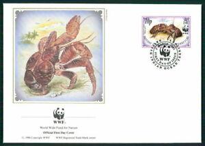 British Territory Bijoux-fdc 1993 Faune Palmendieb Crabe Coconut Crab Em25-afficher Le Titre D'origine CoûT ModéRé