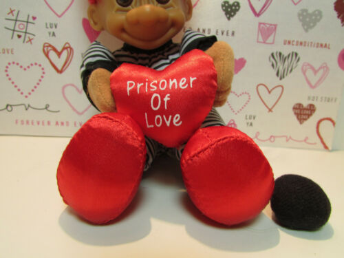 """NEW WITHOUT HANG TAG 6 /"""" Russ Soft Troll Doll PRISONER OF LOVE"""