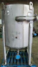 200 Gallon Stainless Steel Cone Bottom Tank 1 Psig 300f