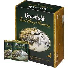 Greenfield 100 Beutel je 2 g Schwarzer Tee Earl Grey Fantasy