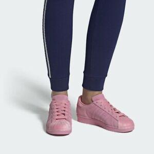 Zapatos De Mujer Adidas Superstar CG6004 San Valentín Rosa ...