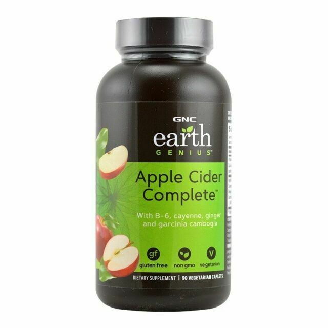 Gnc Superfoods Apple Cider Complete 90 Vegetarian Tablets For Sale Online Ebay