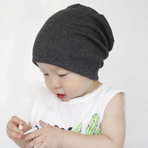 Fashion Enfant Bébé Garçon Fille Nourrisson Douce En Coton Hip hop Hat Cap Beanie