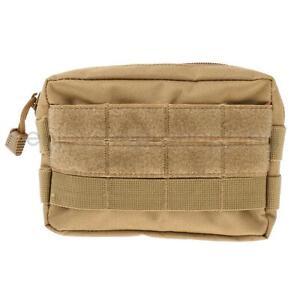 Outdoor-Sport-Nylon-Waist-Bag-Pack-Utility-Phone-Holder-Pouch-Molle-Belt-Tan