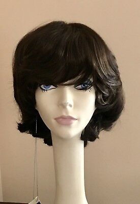 Nwt Jacquelyn Wig New Yorker 10 4 Dark Brown Synthetic Ebay