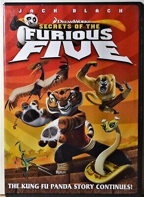 Dvd Secrets Of The Furious Five Kung Fu Panda Story Continues Sequel Children Ebay