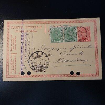 Effizient Belgien Ganze Post Brief Cover Ciney 27.08.1921 > Luxemburg Einfach Zu Schmieren Briefmarken