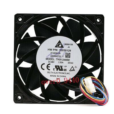 For Delta THA1248BE 48V 2.50A 12038 12cm Aluminum frame fan FREE SHIPPING