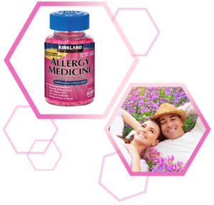 Kirkland Allergy Medicine 25 mg. 600 Mini tabs Compare to BENADRYL Free Shipping