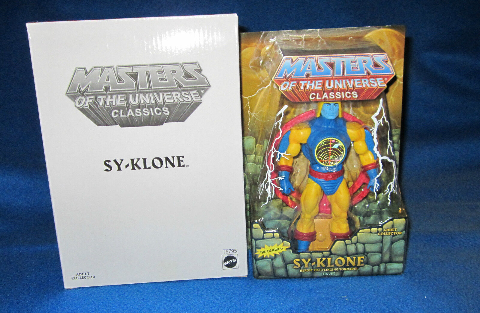 MASTERS OF THE UNIVERSE MOTU CLASSICS SY-KLONE WITH Weiß BOX NEW