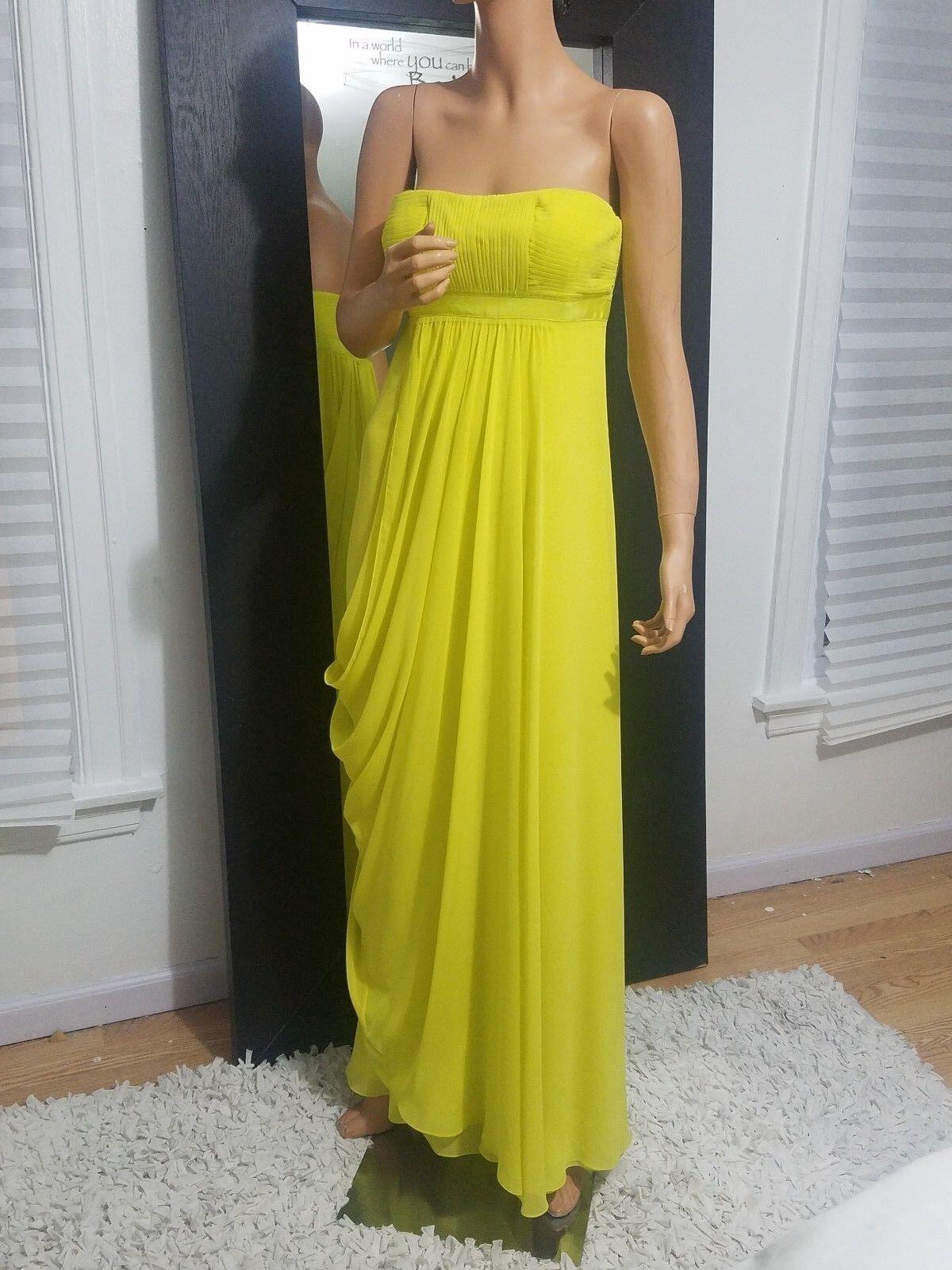 Bcbg dress lemon grass 6