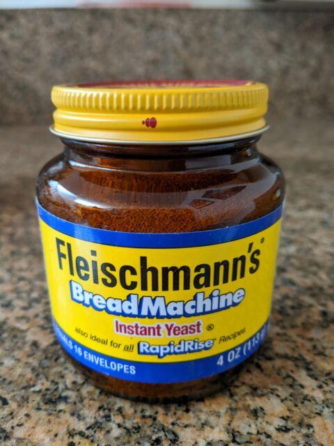 Fleischmann's Bread Machine RapidRise Instant Yeast 4oz ...