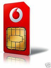 VODAFONE Pay as You Go (PAYG) SIM Card Triple SIM Pack