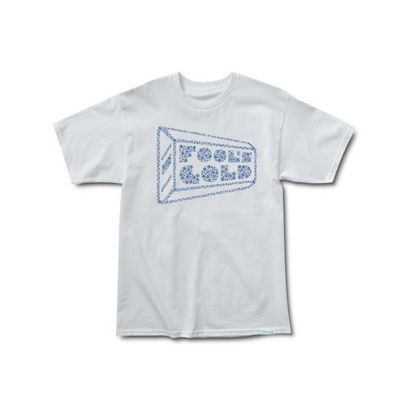 Diamond Supply Co x Fool's gold Records Tee in White Medium M T-Shirt