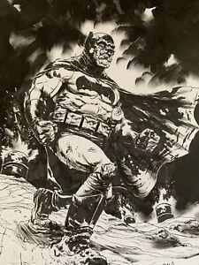 Adam-Gotham-Dark-Knight-Returns-Batman-Original-Ink-Drawing-Signed