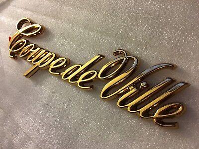 Cadillac Deville Door Lock Trim Gold 1994-1999 24K New!