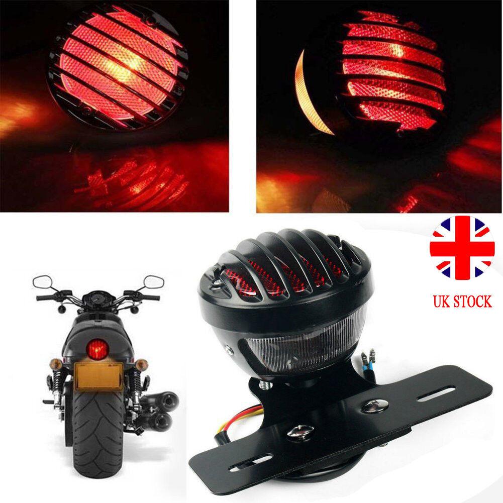 Suniversal Red Led 12v Motorcycle Rear Tail Light Round Brake Stop Indicator Flash Rate Relay Resistor Motorcyle Motorbike Car Uk Lamp Ebay