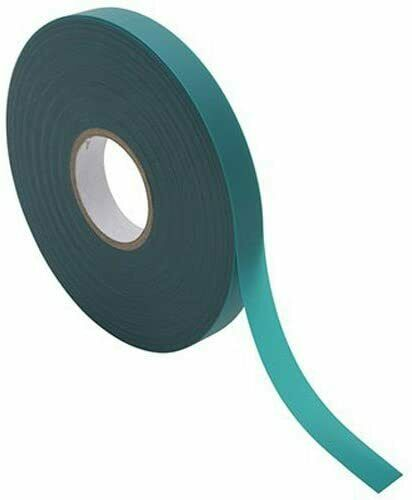 L x 1//2 in Bond Manufacturing  Green  Tape  Ties  150 ft W