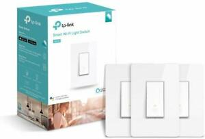 TP-LINK-Kasa-Smart-WiFi-Switch-Single-Pole-White-3Pack-HS200P3-New