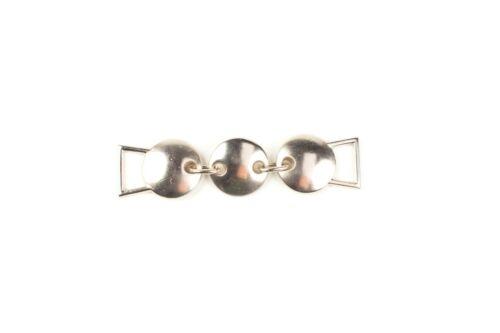 10 × Silver Chain Link Bikini Connector Metal Trim 60mm × 10mm