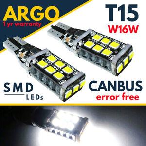 Bmw-5-Serie-LED-Blanc-F10-F11-2010-2016-Xenon-Marche-Arriere-Ampoules-pour-12v